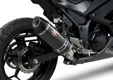 Kawasaki Ninja 300 2014 Yoshimura Carbon R77 Full System Exhaust 147010J220