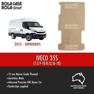 IVECO Daily 35S - Genuine Van Cargo Flooring Marine Grade 12mm Plywood CNC Cut