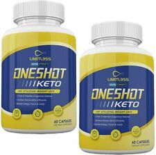 ONE SHOT KETO LIMITLESS EXTRA STRENGTH 800MG 2 MONTH SUPPLY ** FAST SHIPPING**