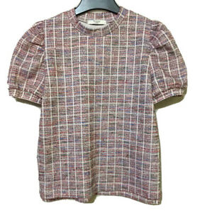 Trinity korean brand Tweed-like Shirt