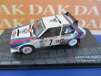 Die cast 1/43 Modellino Auto Lancia Delta S4 Martini Rally Monte Carlo 1986