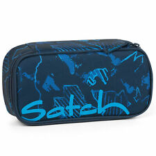 Satch Pencil box Blue Compass