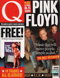 Q UK Magazine November 1994 Pink Floyd Oasis Naomi Campbell 072020AME