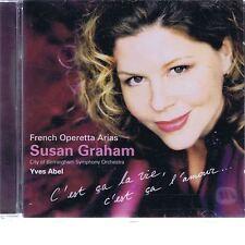 CD ERATO SUSAN GRAHAM - FRENCH OPERATIC ARIAS