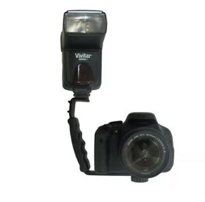 Vivitar Flash Bracket  For Canon,Nikon,Sony,Olympus  DSLR Camera and Video