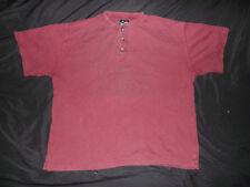 Vintage High Sierra Men's Large 100% Cotton Short Sleeve 3 Button Polo Shirt EUC
