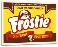 Frostie Root Beer Soda Cola Retro Beverage Sign Decor Sign