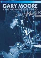 Gary Moore The Midnight Blues Band - Live At Montreux 1990 NEW DVD