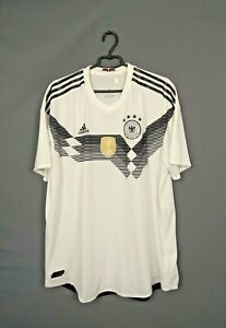 Germany Authentic Jersey 2018/19 Player Issue Home XXL Shirt Adidas BR7313 ig93