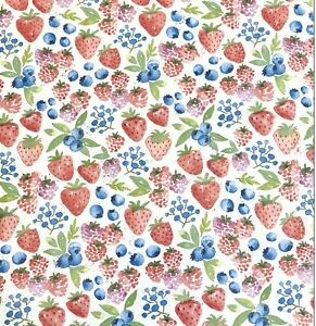 * NIP * Stampin Up! 12 SHEETS OF 12 x 12 BERRY DELIGHTFUL DSP