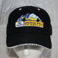 Shell Oil Denver Grand Prix F1 Racing Formula 1 Car Black Hat Cap New NOS OSFM