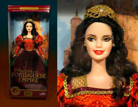 Free Shipping! Princess of the Portuguese Empire 2003 Barbie Doll