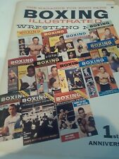 Boxing Illustrated Wrestling Review, 1st Anniversary, January 1960, Back Missing