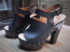 Givenchy - Stud-Embellished Platform Sandals Size: 36/ 6