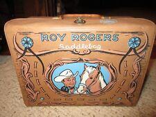 1960 Roy Rogers Vinyl Lunchb Box Very Nice!!!!
