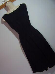 **HOBBS** Sz 16 Black Pencil Dress
