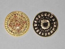 Maya - Aztekenkalender , Sonnenscheibe - Aztec Gold