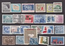 CANADA   ^^^^^^x24  OLDER  mint & used   collection $$@ lar4163cana