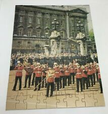 Vintage Canister Jigsaw Puzzle Changing of the Guard London Prize Collectible