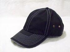 New Black & White Vintage Style Cotton Unstructured Crown Hat Nissin Cap 21108