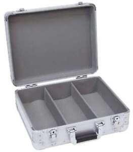 CD Case ALU Digital Booking, abgerundet, für 90 CD's CD-Koffer Alukoffer Box