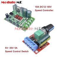 DC 5V-35V/12-60V PWM 5A/10A DC Motor Speed Controller Regulator PWM Governor