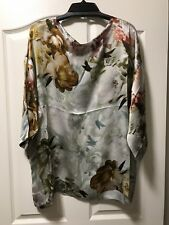 NEW Bryn Walker Size XL Pure Silk Borghese Resort Shirt, Retail $228