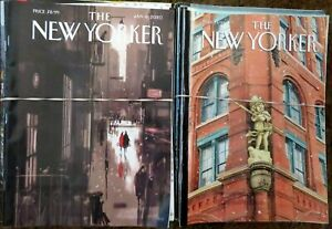 The NEW YORKER Magazine, Year Lots from 2008-2012, 2017-2021, YOUR CHOICE