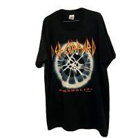 Def Leppard Adrenalize 1992 Vintage Tour Shirt XL Original Authentic