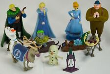 """Disney Frozen Lot of 11 Figurine Playset 3"""" Cake Toppers"""