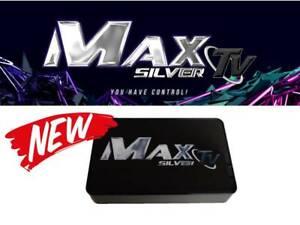 MAXTV SILVER 4K ULTRA-HD QUAD-CORE 64 BIT ANDROID 7.1