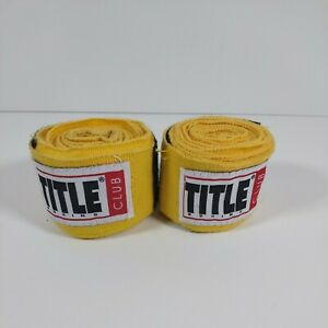 """Title Boxing Club MMA Hand Wraps Boxing 154"""" Long"""