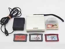 Nintendo Game Boy Advance SP Famicom Color GBA Japan Console + 4game Mario