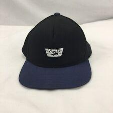 Vans Snapback Hat Skateboarding Flat Brim Adjustable Cap