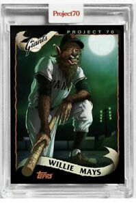 Topps Project 70 #176 - 2002 Willie Mays by Alex Pardee San Francisco Giants 8