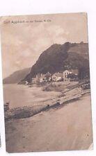AUSTRIA antique 1913 sepia post card Dorf Aggsbach an der Donau near Melk