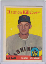 1958 Topps  # 288 Twins Harmon Killebrew  EX-MT