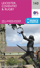 LEICESTER, COVENTRY & RUGBY LANDRANGER MAP 140 - Ordnance Survey - OS - NEW 2016