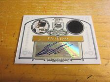 Ronny Paulino Autographed 2006 Bowman Sterling #RP Jersey Relic Card MLB Pirates