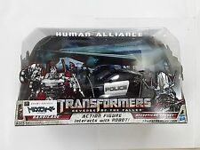 TRANSFORMERS HUMAN ALLIANCE BARRICADE & FRENZY RD-24 ACTION FIGURINEJOUET ENFANT