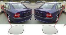 FOR OPEL VECTRA B 95-03 NEW WING MIRROR GLASS HEATED WITH FRAME PAIR SET L&R