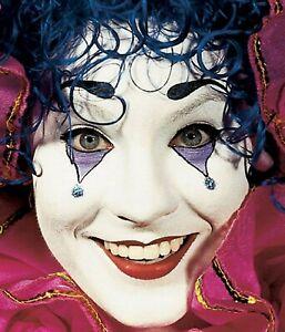 Theatrical Makeup - Clown White Cream 2.5oz -Graftobian Professional Makeup !