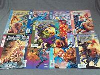 Lot Of 11 Marvel Age Fantastic Four #1-4/ 6/ 7/ 9-12- 2005 Marvel Comics