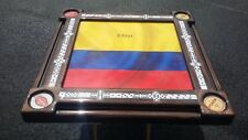 Columbian Flag Domino Table by Domino Tables by Art