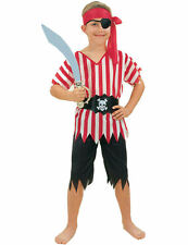 Pirate Boy Boy's Fancy Dress Costume - Small - Age 4 - 6 Years - New & Sealed