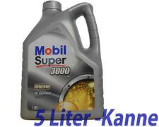 Mobil Super 3000 X1  5W-40  1x 5 Liter Motoröl BMW LL01, Opel, MB 229.3