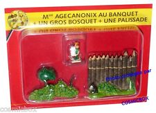 Le VILLAGE d'ASTERIX n° 21 figurine Mme AGECANONIX gauloise Atlas PLASTOY figure