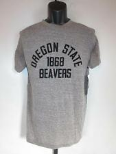 Nuevo Oregon Estado Castores Mediano para Hombres (M) Gris Camisa por J.América