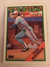 1988 Topps #720 - Tim Raines - Montreal Expos