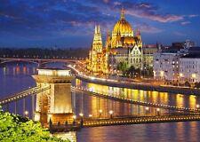 2000 pcs Puzzle Budapest view at dusk Castorland C-200405
